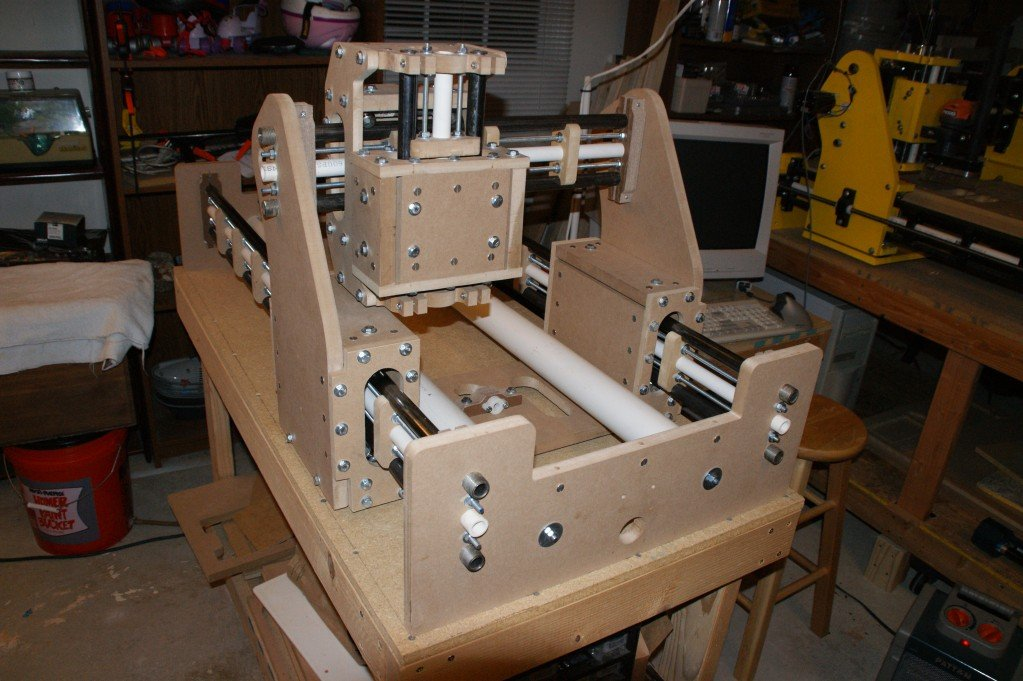 Build your own cnc router cnc machine or 3d for Build your own 3d house