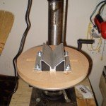 Pipe drilling jig